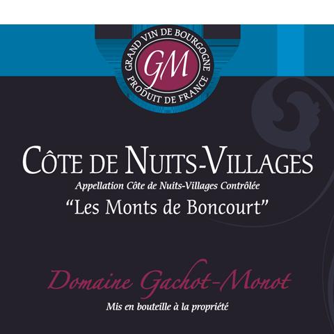 Côte de Nuits-Villages – Les Monts de Boncourt